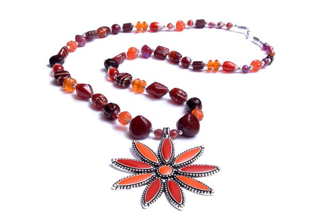 Blumen Halskette (Blumen Halskette)