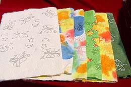 Handmade Paper Saa And Unusual Paper (Бумага ручной работы Саа и необычной бумаги)