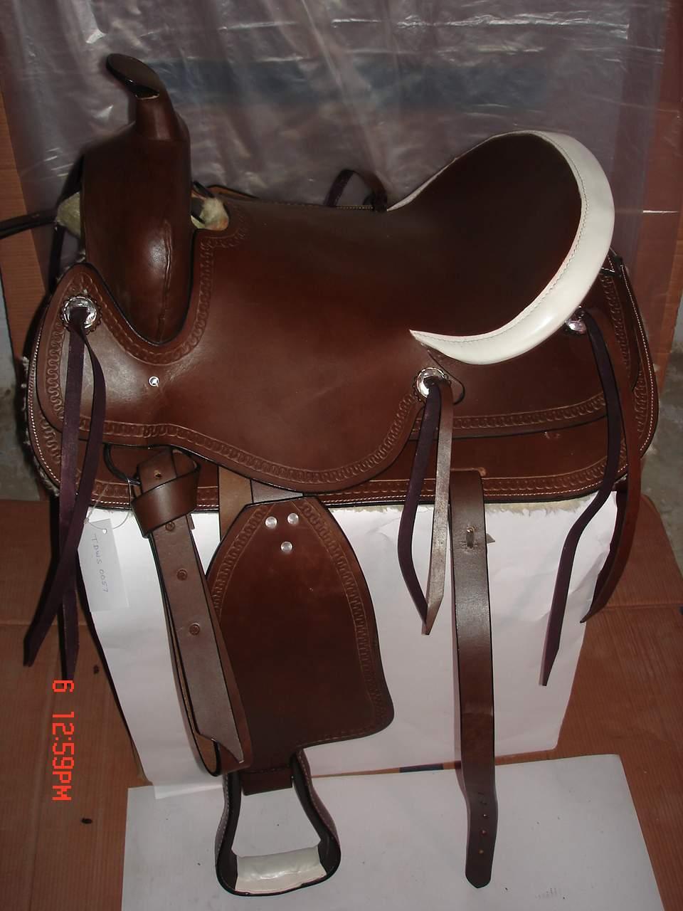 Full Harness Seat Western Saddle (Полное Harness Seat Западного седла)