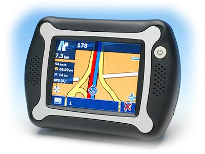 Automative GPS Navigator (Автомобильный GPS-навигатор)