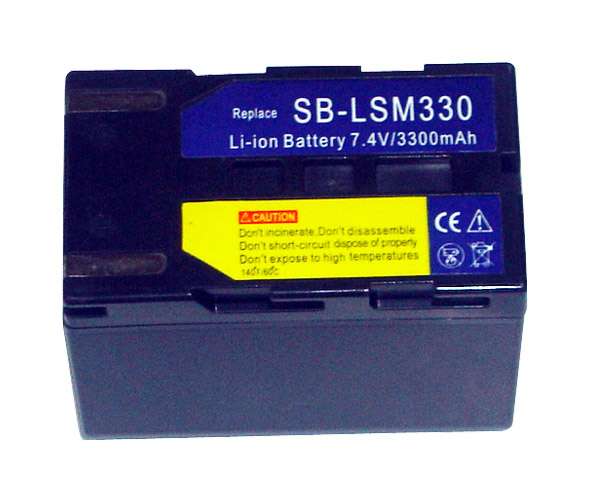 Digital Camera Battery / Camcorder Battery Samsung SBL-SM330 (Цифровая камера Батарея / аккумулятор видеокамеры Samsung SBL-SM330)