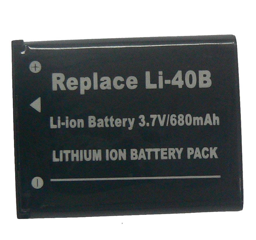 Digital Camera Battery / Camcorder Battery Olympus Li-40B (Цифровая камера Батарея / аккумулятор видеокамеры Olympus Li-40B)