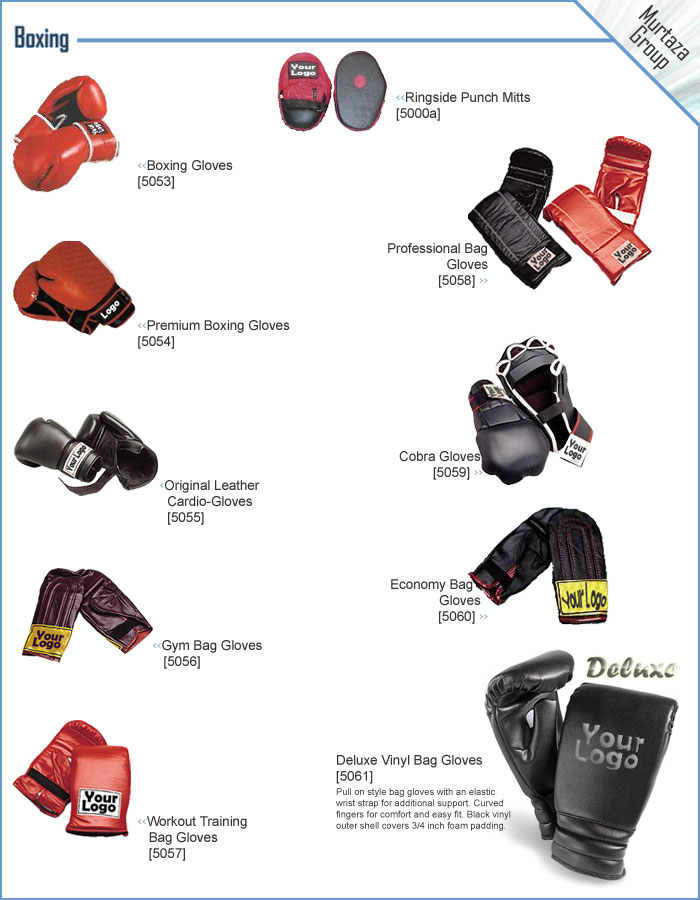 Boxing Gloves, Boxing Bags