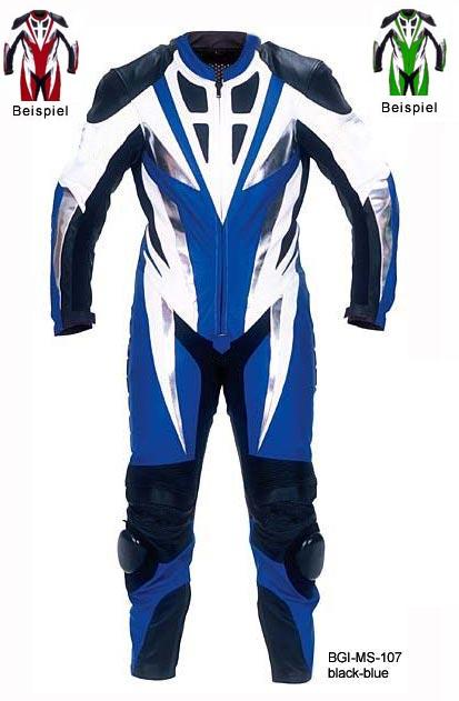 Leather Motobike Racing Suit Biker Speed