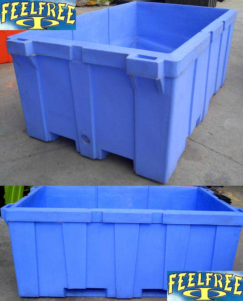Refrigerated Plastic Container For Fishing Storage