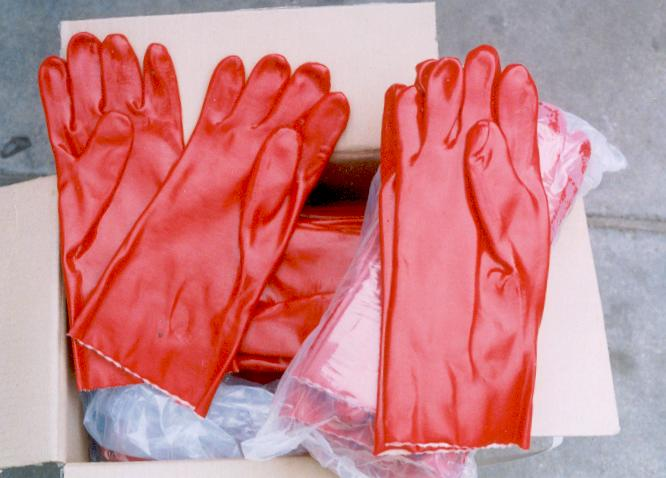 ing PVC Rubber Hand Gloves (Ing ПВХ Перчатки резиновые Hand)