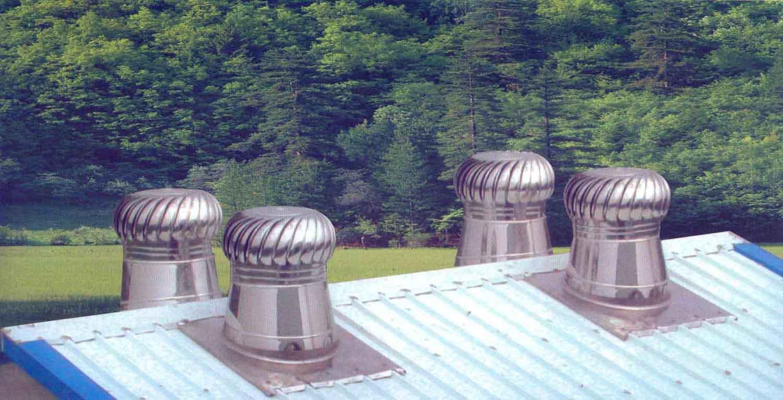 Roof Ventilator, Turbine Ventilator