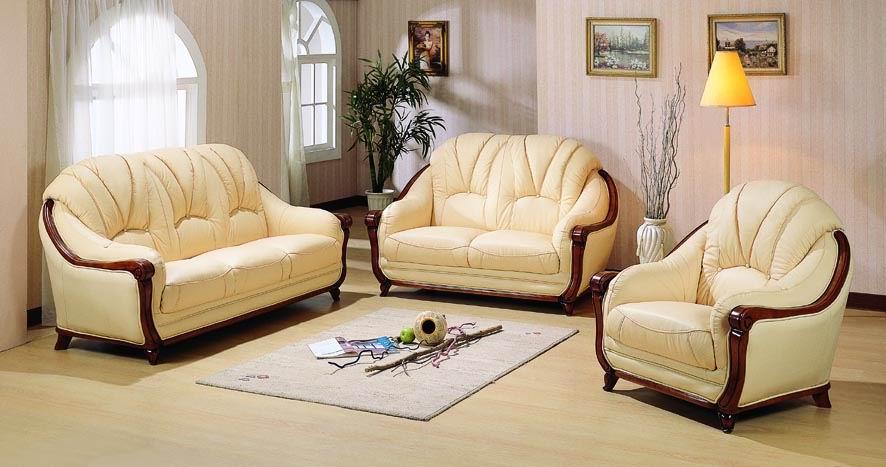 Canapé Cuir Leather Sofa - Sofa en cuir