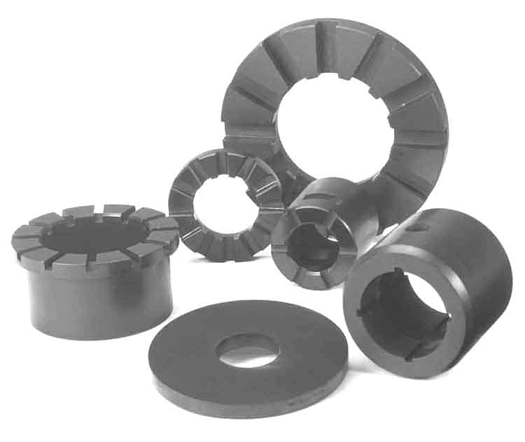 Carbon & Graphite Thrust Bearings, Thrust Pads And Discs