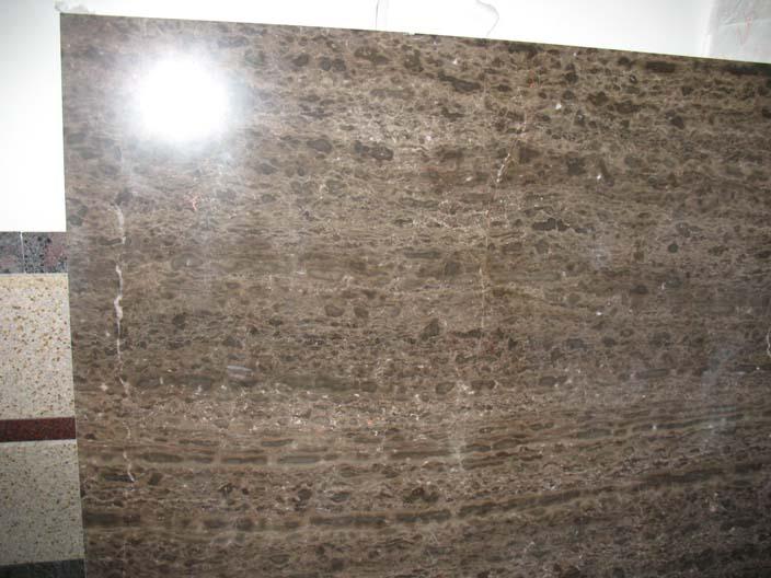 China Dark Brown Marble Slabs (Китай Темно-коричневый мраморных плит)