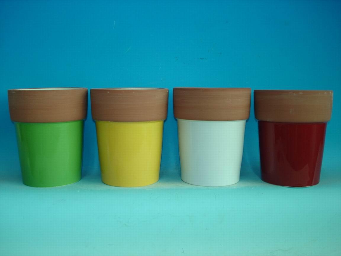 Porcelain Flower Pot (Фарфоровые Горшок)