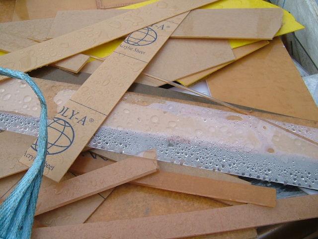 Scrap Acrylic Sheet Offcut (Лом акриловый лист обрезок)