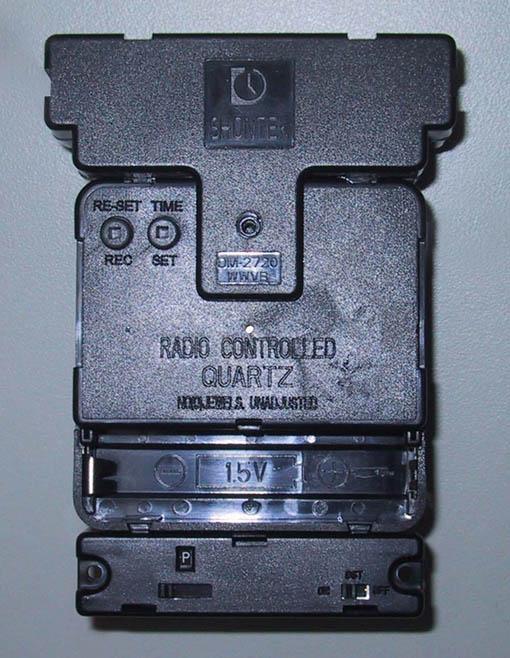 Radio Control Clock Movement (Радио контролю часовой механизм)