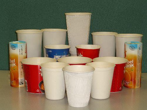 Paper Cup Double-Wall (Бумага кубок с двойными стенками)