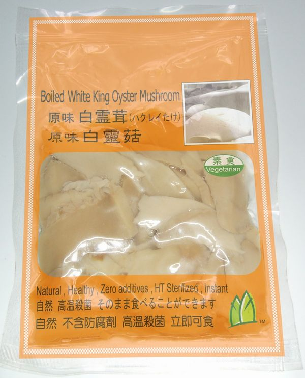 Flavored White King Oyster Mushroom (Flavored White King Oyster Mushroom)
