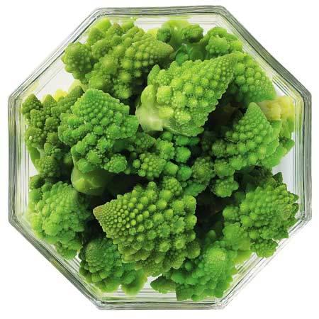 IQF Romanesco, Frozen Mushrooms, Frozen Broccoli