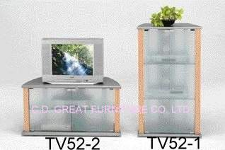 TV52-1 & TV52-2 TV Stand (TV52  & 2-TV52 TV Stand)