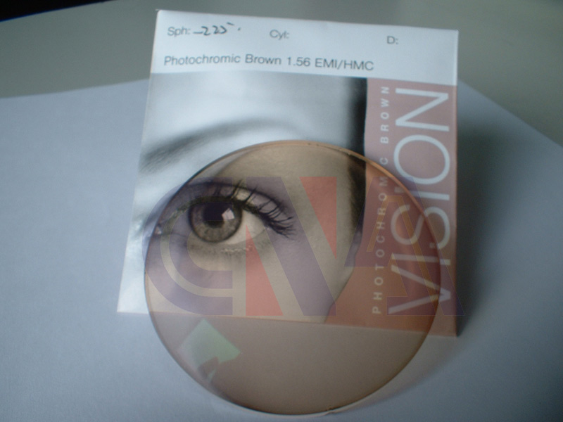 1. 56 Photochromic Lens Single Vision / S. V Hc / Hmc / Emi