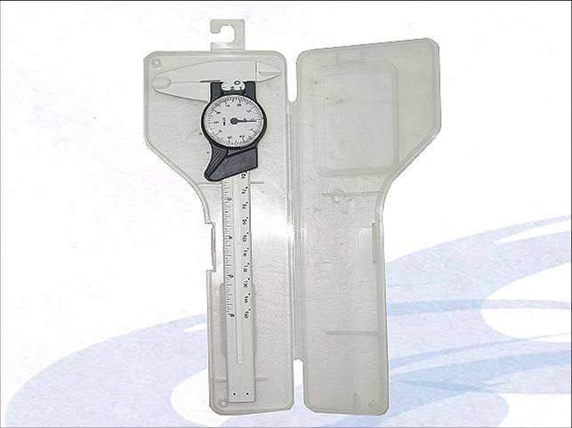 Dial Plastic Vernier Caliper (Dial Kunststoff Messschieber)