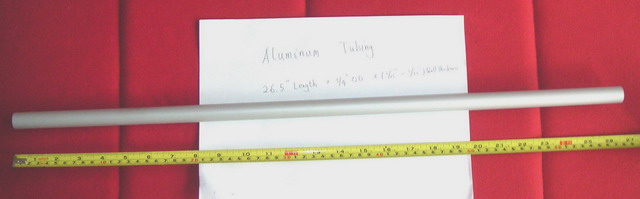 Aluminum Tubing (Алюминиевые трубы)