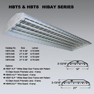 Fluorescent High Bay Fixture, Hi-Bay Light, Lighting Fixture