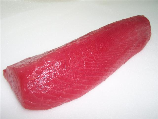 Tuna Loin, Red Snapper (Тунец поясница, Red Snapper)