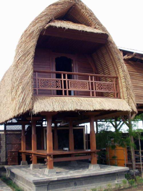 Balinese Rice Barn