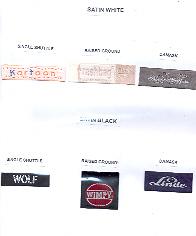 Woven Labels (Тканые этикетки)