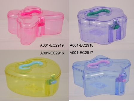 Oval Shape Jewel Box With Corner (Овальная форма Jewel Box с угловыми)