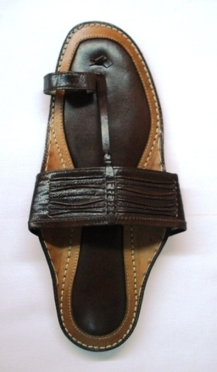 Leather Chappal-Mens (Кожа Chappal-Мужские)