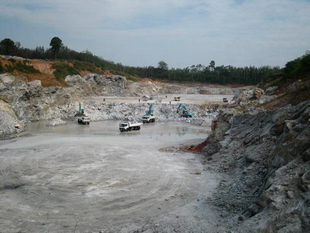 Natural Gypsum In Big Volume