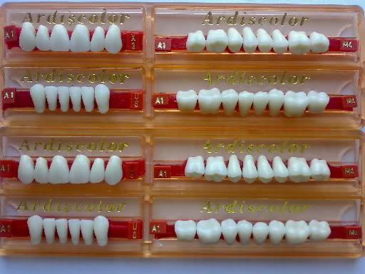 Искусственные зубы материал для протезов