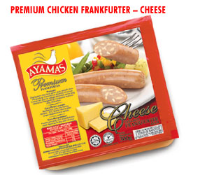 Premium Frankfurter -Cheese, Mushroom, Black Pepper (Premium Frankfurter-сыр, грибы, перец черный)