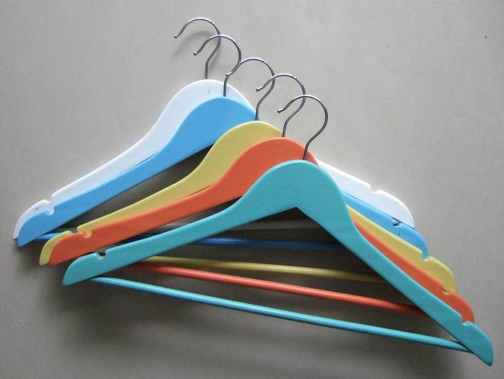 Colorful Painted Wooden Hanger (Красочная роспись деревянные плечики)