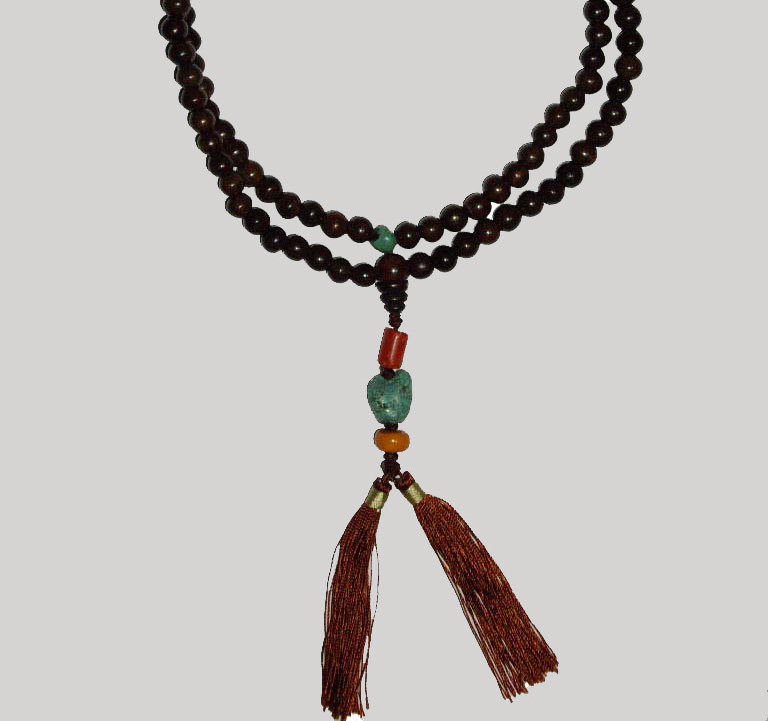 Sandalwood Prayer Beads (Бисер сандаловое молитва)