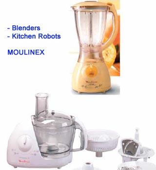Moulinex Blender And Kitchen Robot (Блендер Moulinex И Кухонный комбайн)