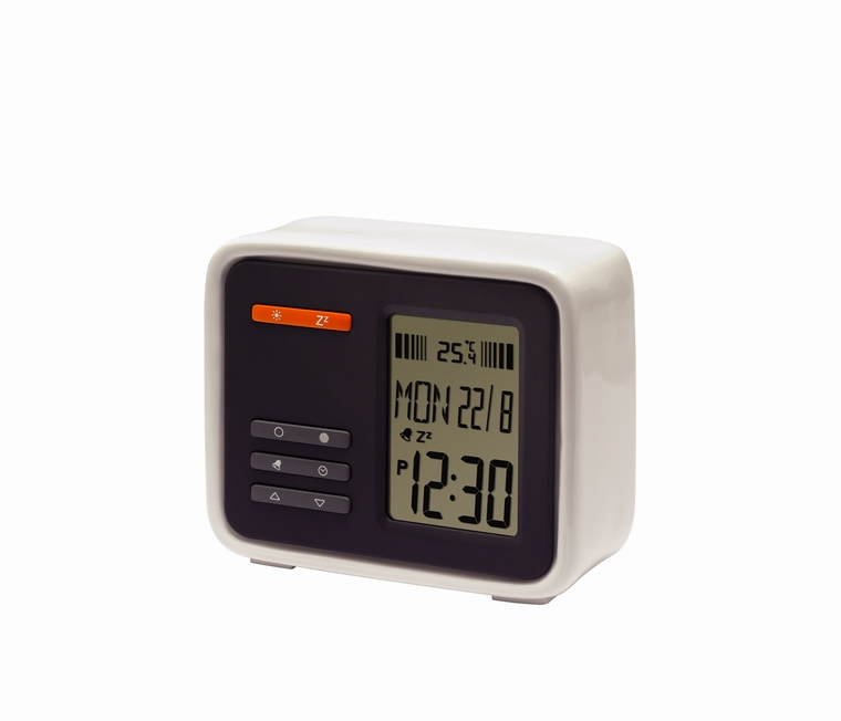 Icy-Ceramic LCD Alarm Clock (Ледяные Керамическая ЖК-будильник)