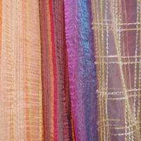 Voile Curtain With Print Or Embroidery