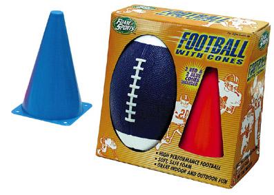 Football With Cones (Футбол с шишками)
