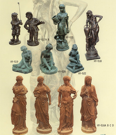 Stone Statues, Stone Sculptures, Stone Carving And Cast Iron Garden Statues (Каменные статуи, каменные изваяния, резьба по камню и чугуна Сад Статуи)
