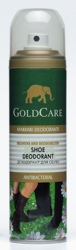 Goldcare Shoe Deodorant Aerosol Spray 150 Ml (Goldcare Чистка Дезодорант аэрозоля, 150 мл)