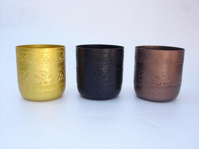 Colored Oriental Metal Glasses (Цветной восточных металлических стекол)