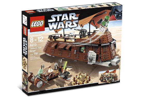Lego 6210 Jabba`s Sail Barge (Паруса Lego 6210 Джаббы баржа)