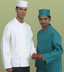 Elegant Chefs Jacket With Plastic Buttons