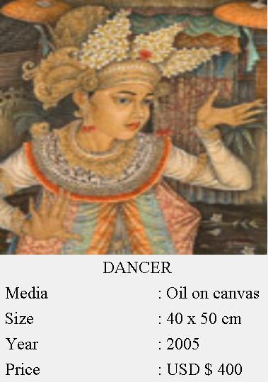 Dancer Canvas Painting (Dancer Canvas Painting)