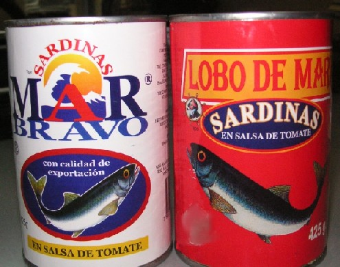 Canned Sardines From Ecuador And Peru