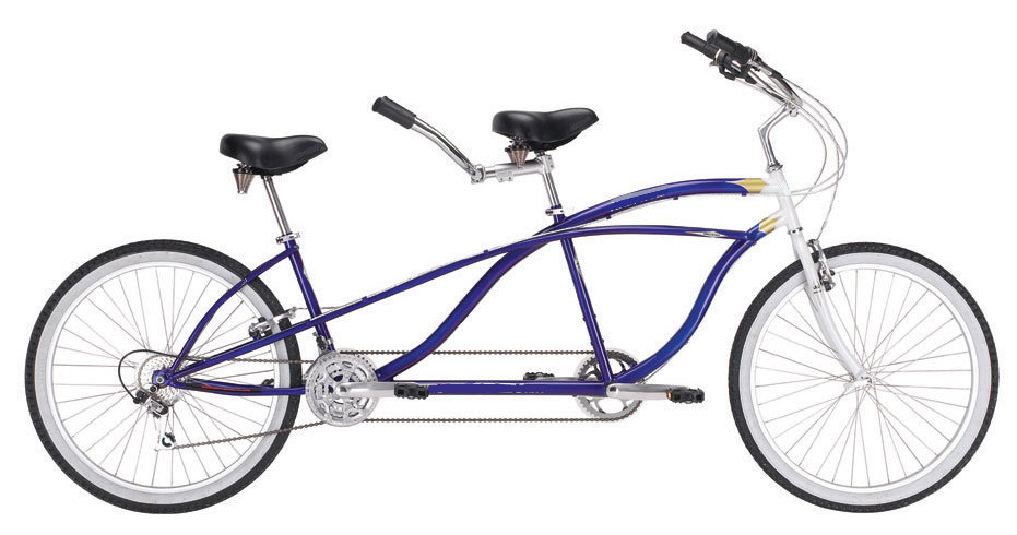 26 Tandem Bike Beach Cruiser (26 Tandem Bike Be h Cruiser)