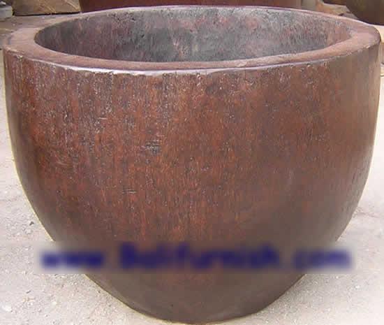 Coco Palm Tree Wood Bowl Garden Planter (Coco Palm Tr  Wood Bowl сад Planter)