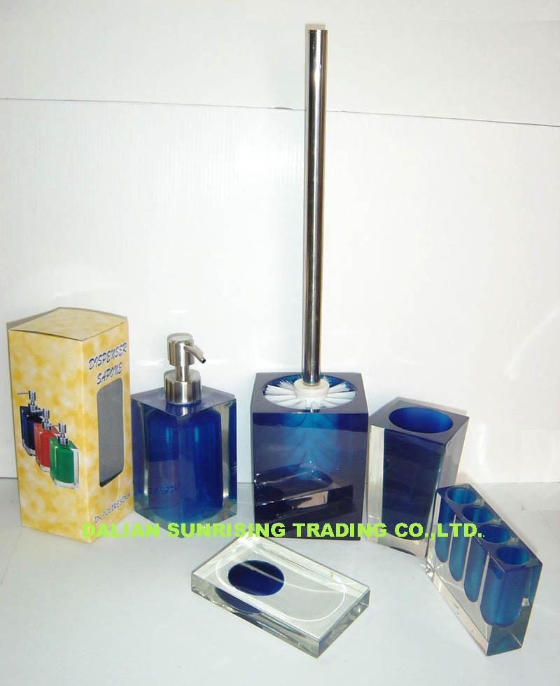 Polyresin Bathroom Accessories (5pcs) (Polyresin Аксессуары для ванной комнаты (5 шт))