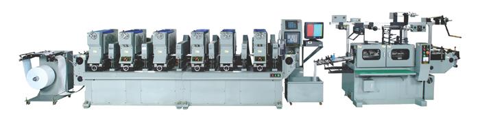 Rotary Label Printing Machine, Shaftless (Ротари этикетка печатная машина, Shaftless)